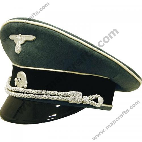 German SS Infantry Officer Visor Cap Collectors Grade WWII